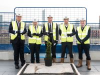 Photo: Topping out signifies major milestone for Middlewood Locks