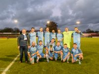 Photo: Manchester business leaders line-up for MCFC v MUFC charity football match